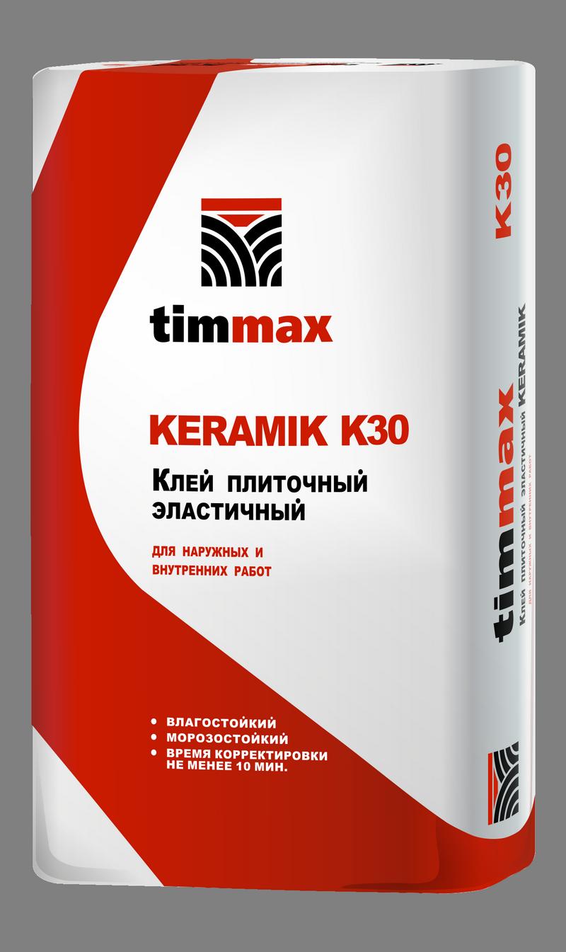Клей плиточный эластичный KERAMIK K30